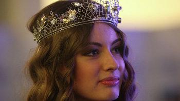Владислава Вернер, победительница конкурса красоты Miss Snow Universe